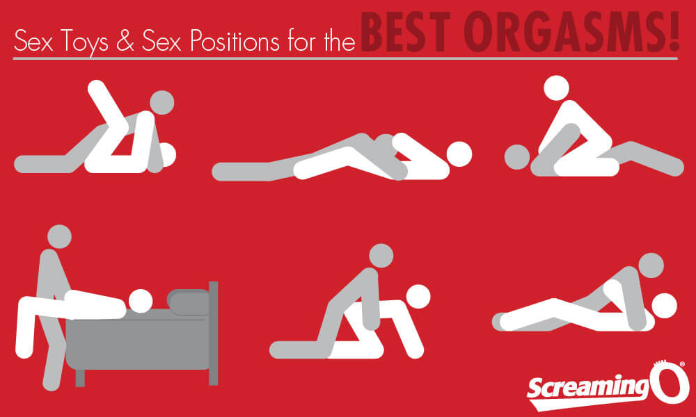 Best Positions & sex toys for the best orgasms